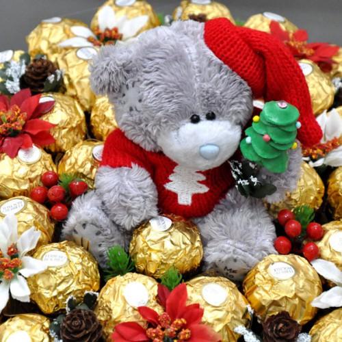 """Букет из конфет """"С Новым годом!"""" 2"""